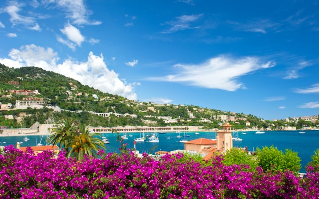 Cote d'Azur, french reviera, Villefranche-sur-Mer