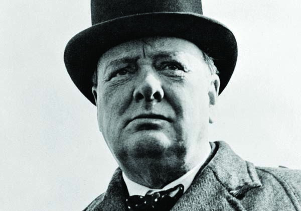 Winston Churchill. Crédit photo : Wikimedia.