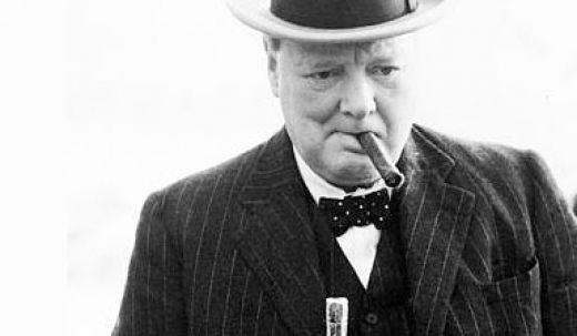 Winston Churchill  crédit Whskeygoldmine.com