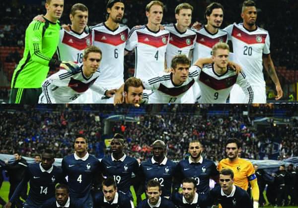 France-Allemagne le match du management