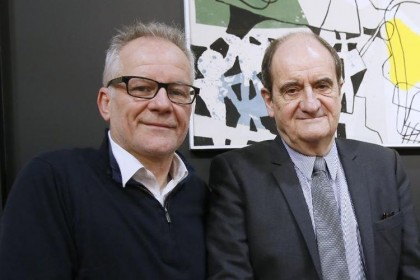 Thierry Frémaux, délégué général et Pierre Lecure, Président du Festival de Cannes  crédit wask.fr
