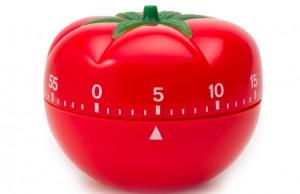 Le minuteur en forme de tomate