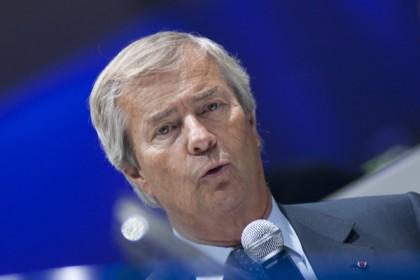 Vincent Bolloré, Président du Conseil de Surveillance de Canal + crédit frenchweb.fr
