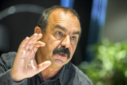Philippe Martinez crédit humanite.fr.