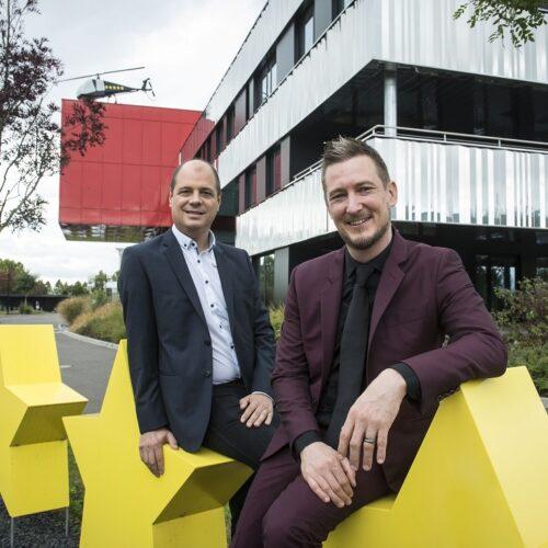 """Sacha Goepp et Gregory Regouby, co-fondateurs de """"Plus que PRO"""""""