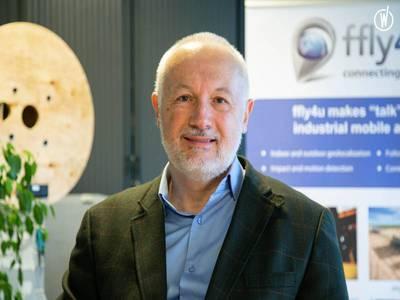 Olivier Pagès, président fondateur de Ffly4U, start-up spécialisée dans l'Internet des Objets (IoT) pour le suivi d'actifs mobiles