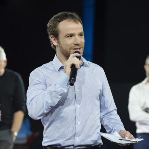 Sebastien Bernard, Metteur en scène, consultant et conférencier, co-fondateur du cabinet conseil ZEPRESENTERS