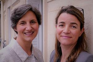 Marine Balansard et Marine de Cherisey, associées fondatrices d'ARISEAL (performance décisionnelle)