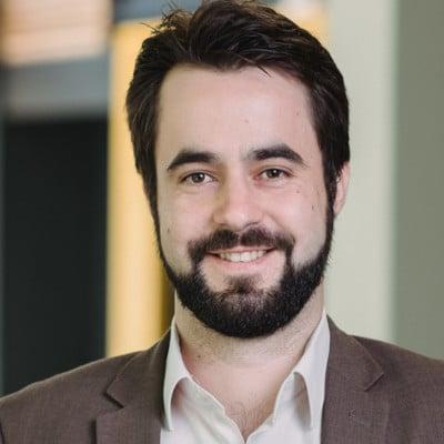 Alexis Laporte, président de Hubware, un service d'optimisation du service client