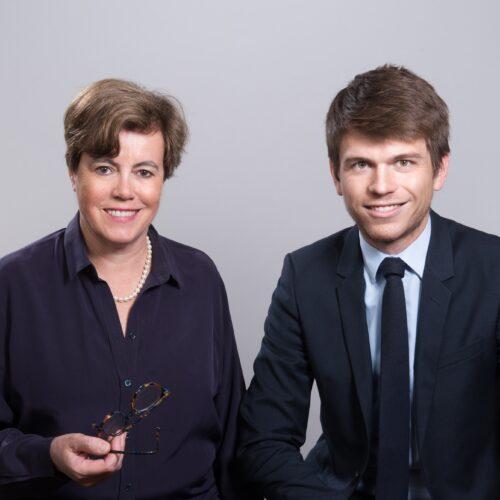 Elisabeth Graëve et Anaël André, avocats au barreau de Paris
