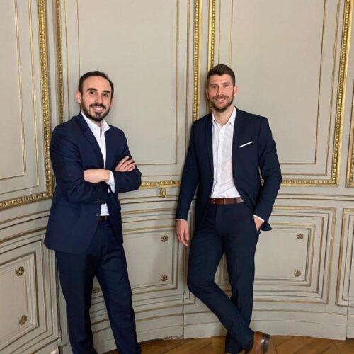 Me Romain Bizzini et Me Xavier Salvatore, avocats au barreau de Paris